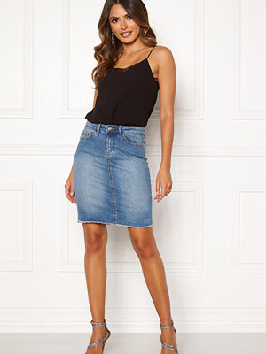 Only Eliza Reg Raw Edge Skirt
