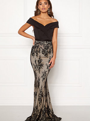 Bubbleroom Carolina Gynning Off shoulder gown