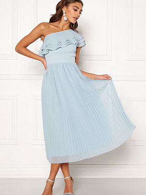 Bubbleroom Carolina Gynning Frill one shoulder dress