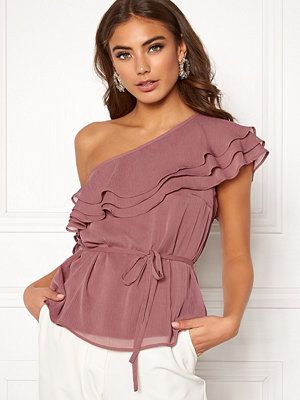 Bubbleroom Carolina Gynning Flounce blouse