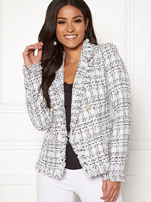 Girl In Mind Amelia Tweed Pearl Blazer