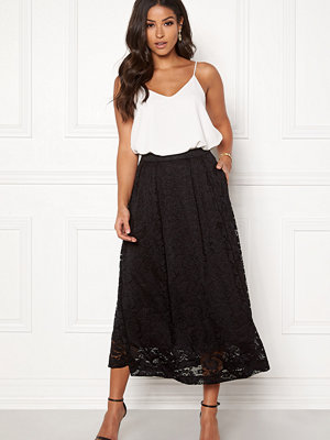 Kjolar - Pieces Beda Ankle Lace Skirt