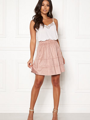Only Carma Faux Suede Skirt