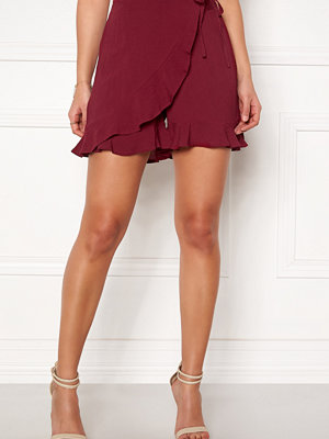 Happy Holly Tilly frill shorts Brick-red