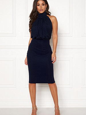 Ax Paris Rouch Halter Midi Dress