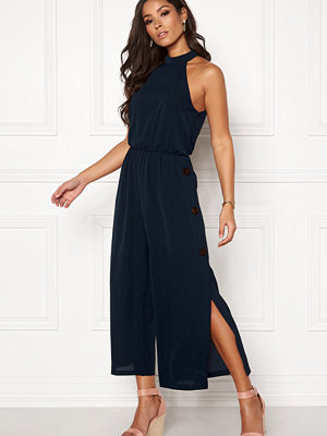 Ax Paris Highneck Culotte Jumpsuit