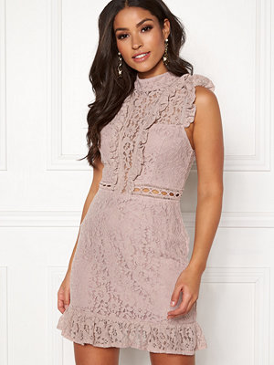 Ax Paris Lace Frill Mini Dress