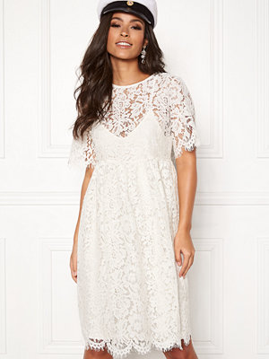 Pieces Gaia 2/4 Midi Lace Dress