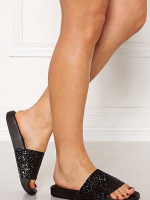 Sandaler & sandaletter - The White Brand Glitter Black Sandals