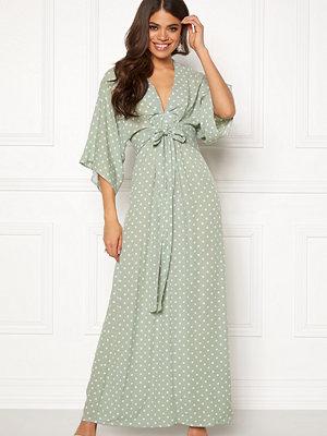 Blue Vanilla Kimono Sleeve Maxi Dress