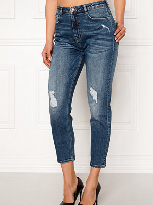 77thFLEA Indigo boyfriend jeans