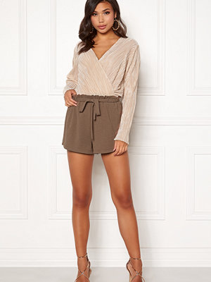 Bubbleroom Louise paperbag shorts