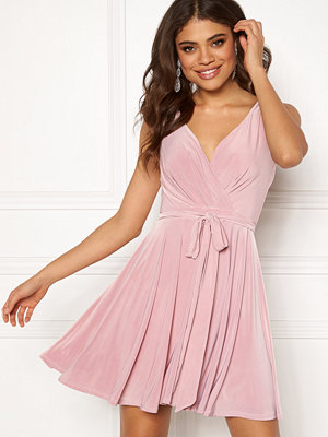 Goddiva Cross Over Skater Dress