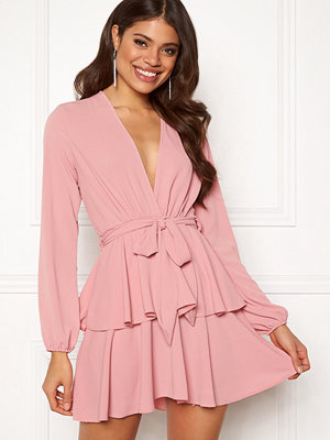 John Zack Deep Ruffle Skater Dress