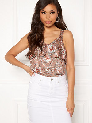 Rut & Circle Flower Print Frill Top