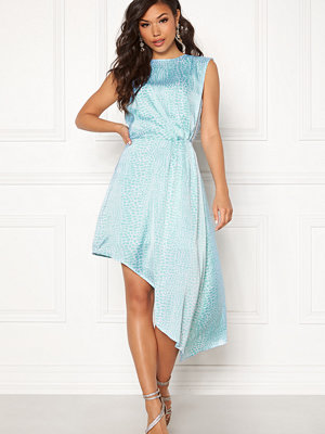 Ivyrevel Asymmetric Dress Light Blue Croco
