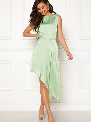 Ivyrevel Asymmetric Dress Pastel Green