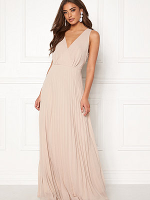 Ax Paris Lace Pleated Maxi Dress