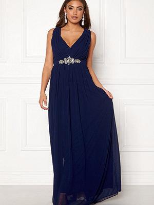 Goddiva Jewelled Maxi Dress