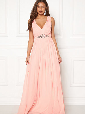 Goddiva Jewelled Maxi Dress