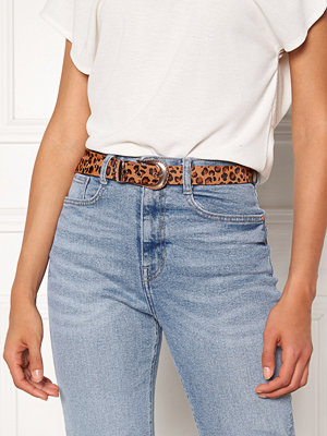 Pieces Cynlee Leather Jeans Belt