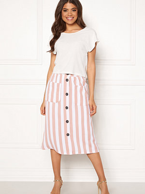 Only Madeline Piper Midi Skirt