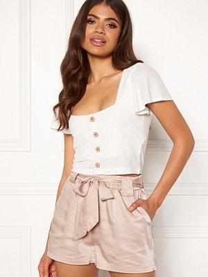 Shorts & kortbyxor - Rut & Circle Satin Belt Shorts