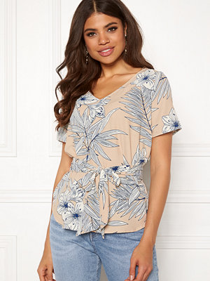 Sisters Point New Essu Blouse 116 Cream/Blue