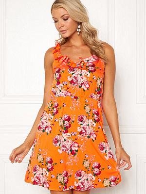 Vero Moda Ane S/L Frill Short Dress