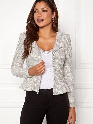Chiara Forthi Crystalina peplum jacket