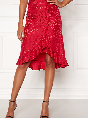 Chiara Forthi Leila Flounce Buttoned Skirt