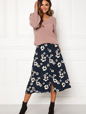 Happy Holly Frida button skirt