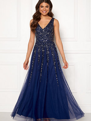 Goddiva Sunray Sequin Maxi Dress