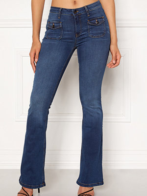 co'couture marinblå byxor Saint Boot Cut Jeans