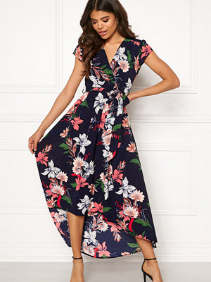 Ax Paris Floral Waterfall Dress
