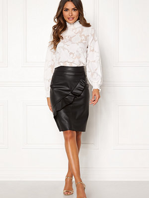Happy Holly Johanna PU skirt