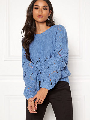 Tröjor - Vila Satira Knit O-Neck Top