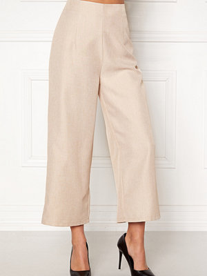Bubbleroom omönstrade byxor Sofi culotte trousers