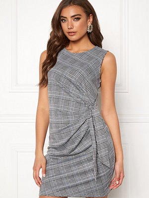 Make Way Sheila dress Grey / Checked / Blue