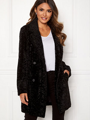 Happy Holly Sienna fur coat