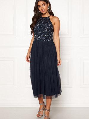 Angeleye High Neck Sequin Dress
