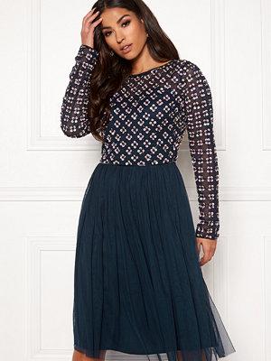 Angeleye Long Sleeve Sequin Dress