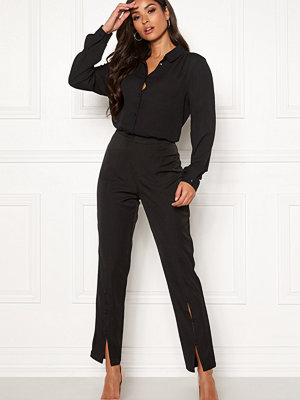 Rut & Circle svarta byxor Jessie Button Pants