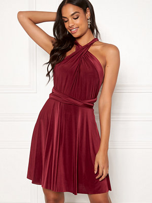 Goddiva Multi Tie Skater Dress