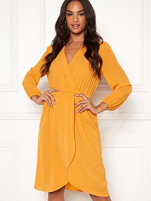 Ax Paris Long Sleeve Wrap Dress