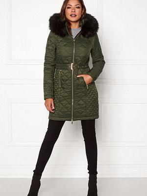 Chiara Forthi Sarraceno Quilted Fur Jacket