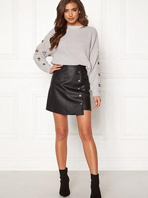 Bubbleroom Line PU skirt