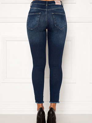 Jeans - Only Blush Mid Ank Raw