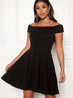 Goddiva Bardot Skater Dress