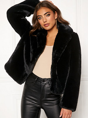 Bubbleroom Claudia faux fur jacket